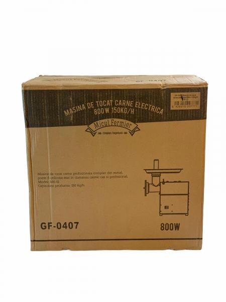 Masina de tocat carne electrica - profesionala INOX 850W 150k/ora MK-12 Alpin Profi [16]