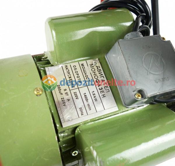 Masina de tocat carne profesionala nr. 32 cu motor electric 1500W JIA 2