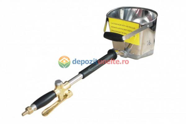 Masina tencuit pneumatica DeeToolz, 60mp/Ora, 9Bar, Dispozitiv Inox, 89DZC202 2