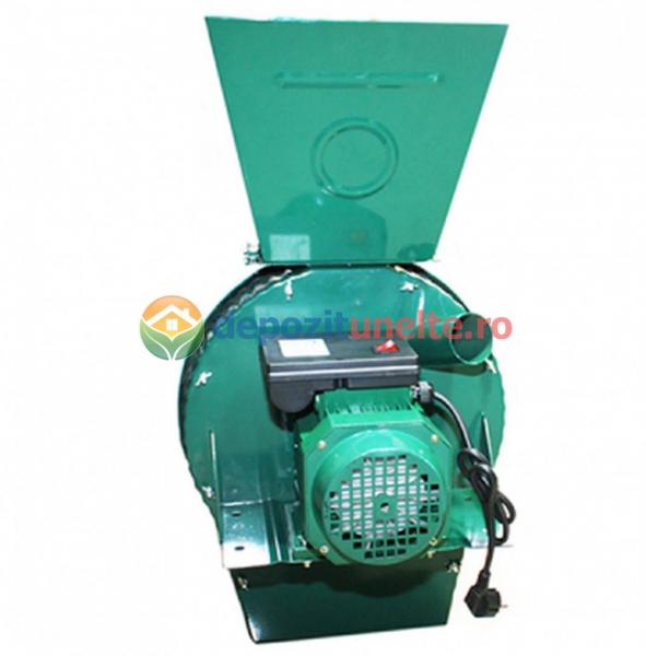 Moara electrica cu ciocanele verde 2