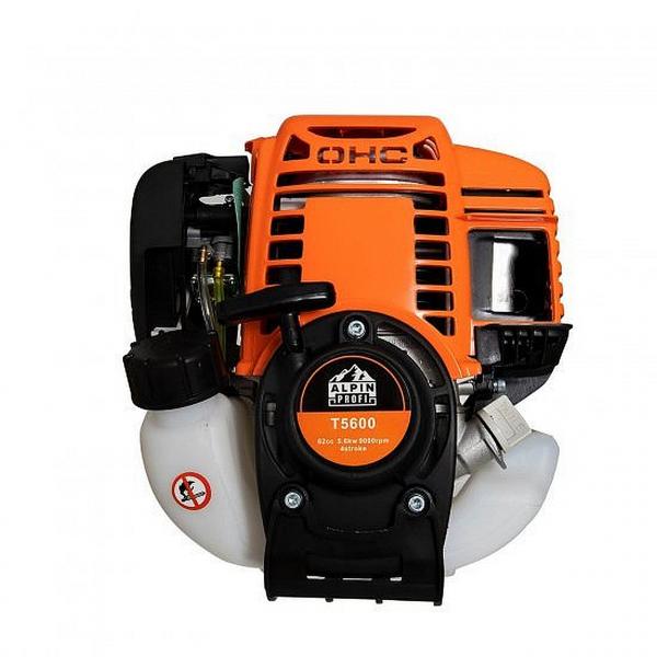 Motocositoare Alpin Profi T5600, motor 4 timpi - 5600W -  62CC 7CP  , accesorii incluse  - 4 moduri de taiere 2