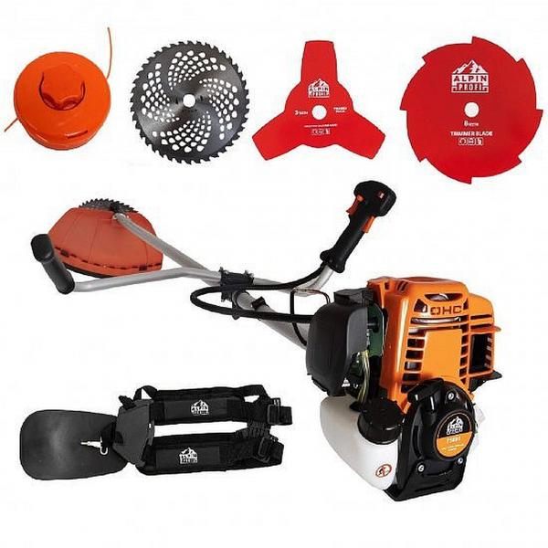 Motocositoare Alpin Profi T5600, motor 4 timpi - 5600W -  62CC 7CP  , accesorii incluse  - 4 moduri de taiere 6
