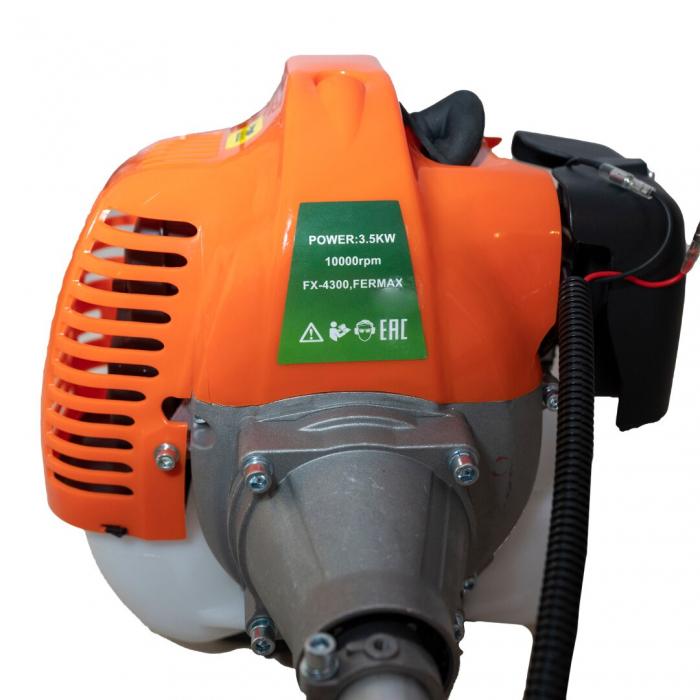 Motocositoare pe benzina Fermax FX 4300 Model 2021, 2 timpi, 43CC, 5 Cp, 10.000 rpm [1]