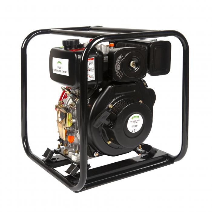 Motopompa diesel de presiune, putere 7 CP, Diesel, absortie/refulare 2''/2'' (50 mm) , pornire la sfoara,motor in 4 timpi, presiune 6 bari 5
