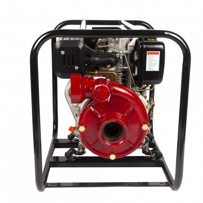 Motopompa presiune ,putere 9,8 CP, diametru absortie/refulare 3''/3'' (80 mm),diesel,presiune 4,5 bari,motor 4 timpi racit cu aer 1