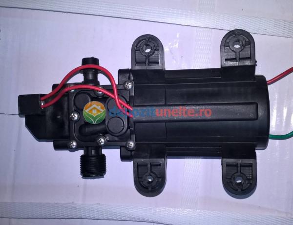 Pompa de presiune cu motor de 12 Vcc pentru pompa de stropit electrica Pandora - iesire pe ștuț 4