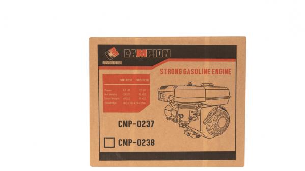 MOTOR BENZINA 7.5CP OHV, AX PANA 20MM, 4 TIMPI, CAMPION CMP-0238 [2]