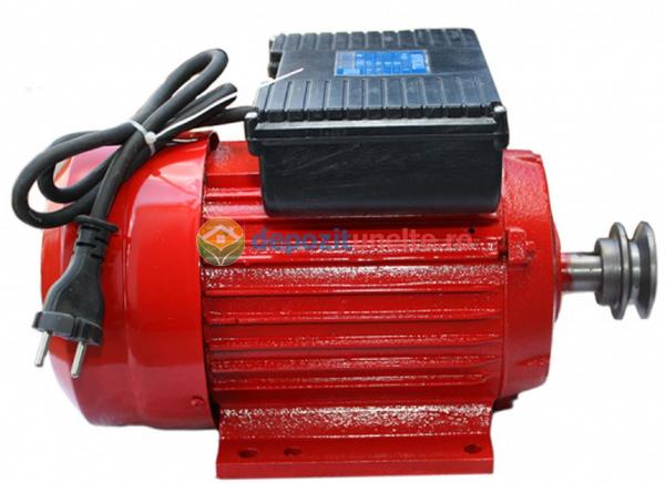 Motor electric monofazat 2.5kw, 3000rpm Troian Rosu 0