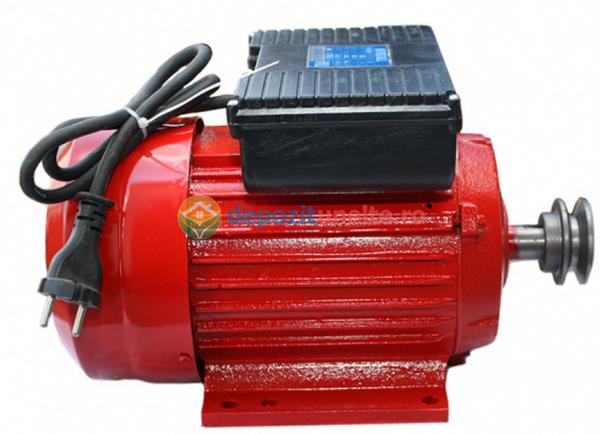 Motor electric monofazat 3.0kw, 3000rpm Troian Rosu 0