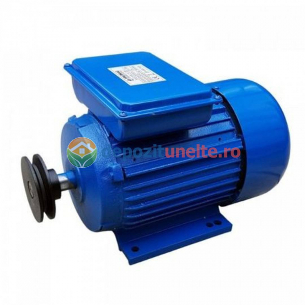 Motor electric monofzat UralMash Campion 3 kW, 3000RPM, BOBINAJ 100% CUPRU 0