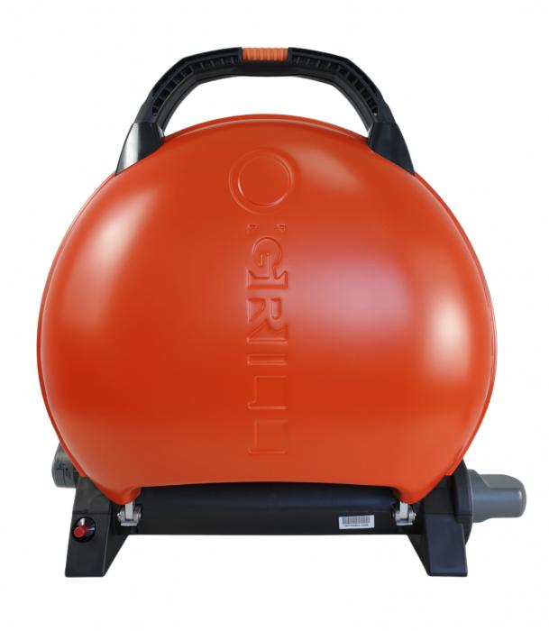 Gratar portabil pe gaz, O-GRILL 600, 3.2kW, portocaliu, 232 g /h [0]