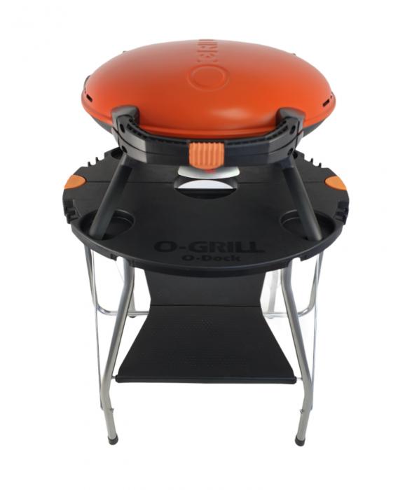 Gratar portabil pe gaz, O-GRILL 600, 3.2kW, portocaliu, 232 g /h [3]