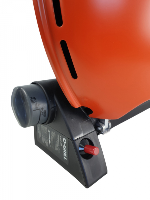 Gratar portabil pe gaz, O-GRILL 600, 3.2kW, portocaliu, 232 g /h [2]