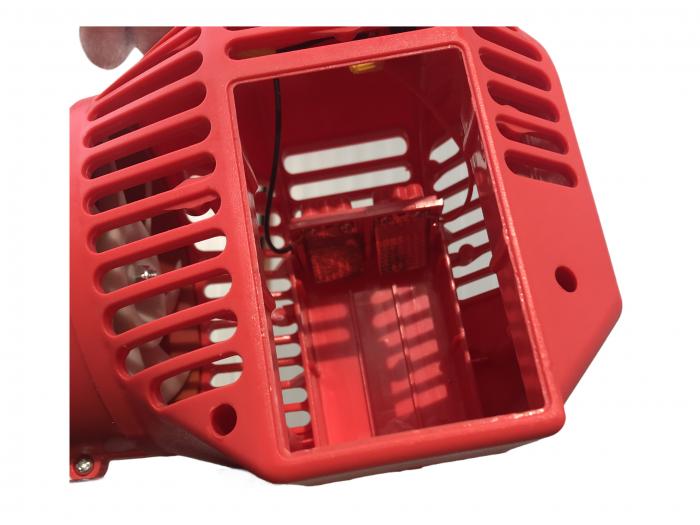 Pachet Protectia plantelor - Pompa de stropit electrica cu acumulator Pandora 16 Litri -12V 8Ah cu regulator de presiune + Atomizor electric portabil ELEFANT cu spatiu montaj acumulator ( suflanta [8]