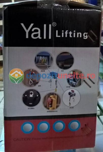 PALAN ELECTRIC 200 KG ( Macara / Lift cu cablu de otel, troliu) PA 200 4