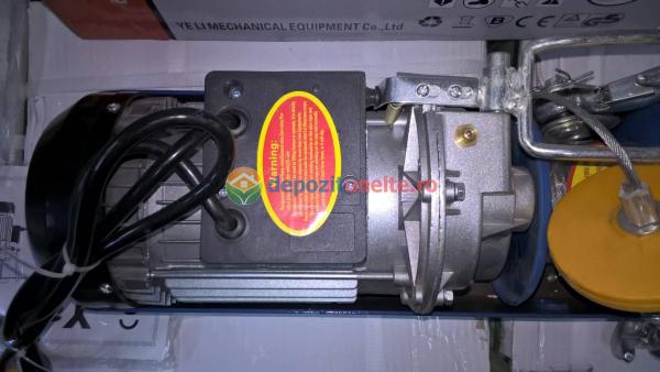 PALAN ELECTRIC 200 KG ( Macara / Lift cu cablu de otel, troliu) PA 200 5