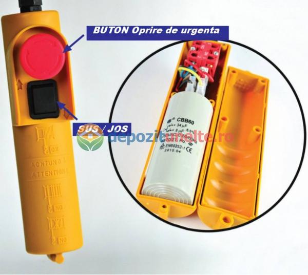 PALAN ELECTRIC 200 KG ( Macara / Lift cu cablu de otel, troliu) PA 200 7