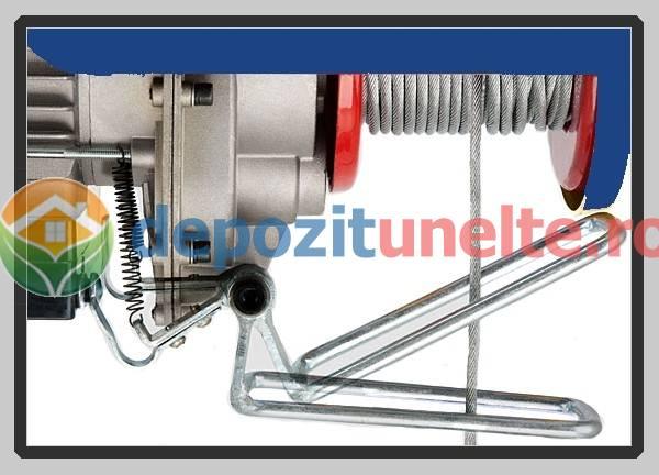 PALAN ELECTRIC 200 KG ( Macara / Lift cu cablu de otel, troliu) PA 200 8