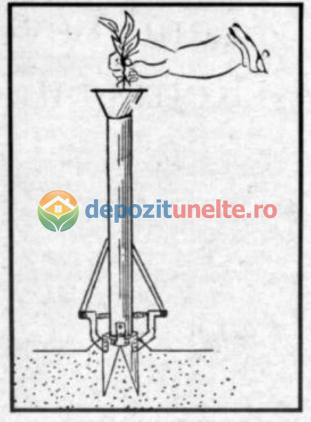 Plantator rasaduri, rosii, ardei, bulbi, cartofi INTEGRAL din INOX - CALITATE PREMIUM [4]