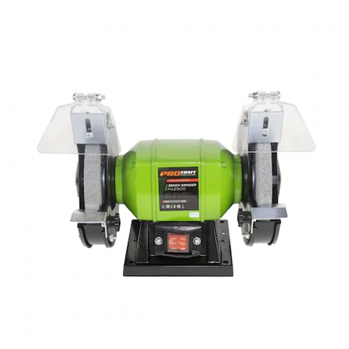 Polizor de banc Procraft PAE900 Industrial, Motor inductie, 900W, 2950 RPM, Diametru disc 150 mm, Model 2020 [0]