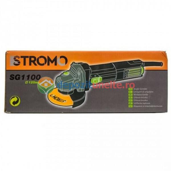 Polizor unghiular 1100W, 125mm, STROMO SG1100 , Flex 1