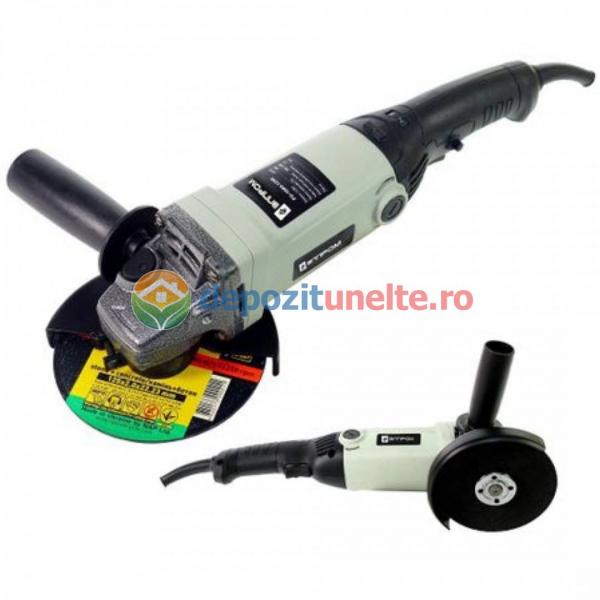 Polizor unghiular cu variator, 1000W, 125 mm, 11000 Rpm, FLEX ELPROM EMSU-1000-125E, Model 2019 0