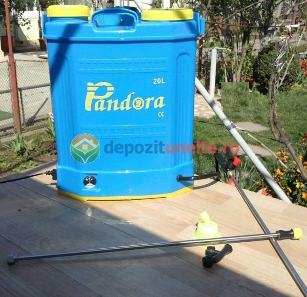 Pompa de stropit cu acumulator Pandora, 20 L - Vermorel 5