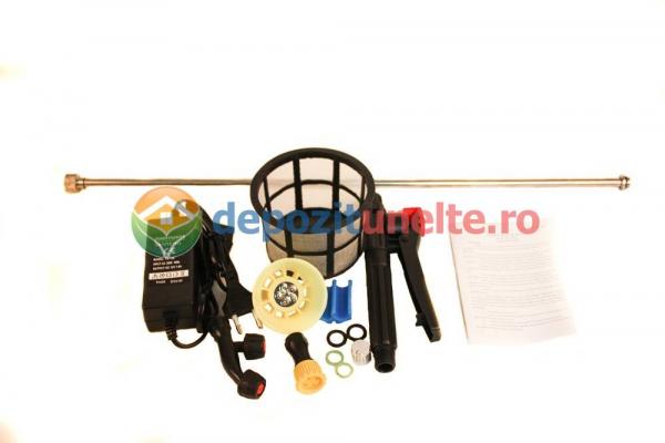 Pompa de stropit electrica cu acumulator Pandora 16 L - Vermorel electric 2