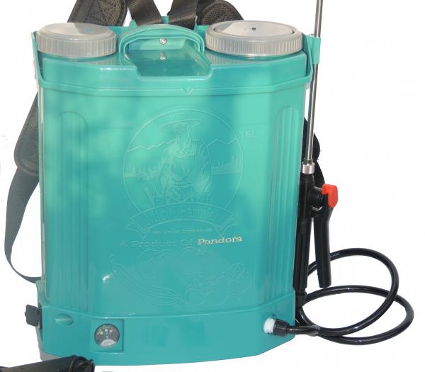 Pompa de stropit electrica cu acumulator Pandora 16L Micul fermier 2020 - Vermorel electric cu baterie [3]