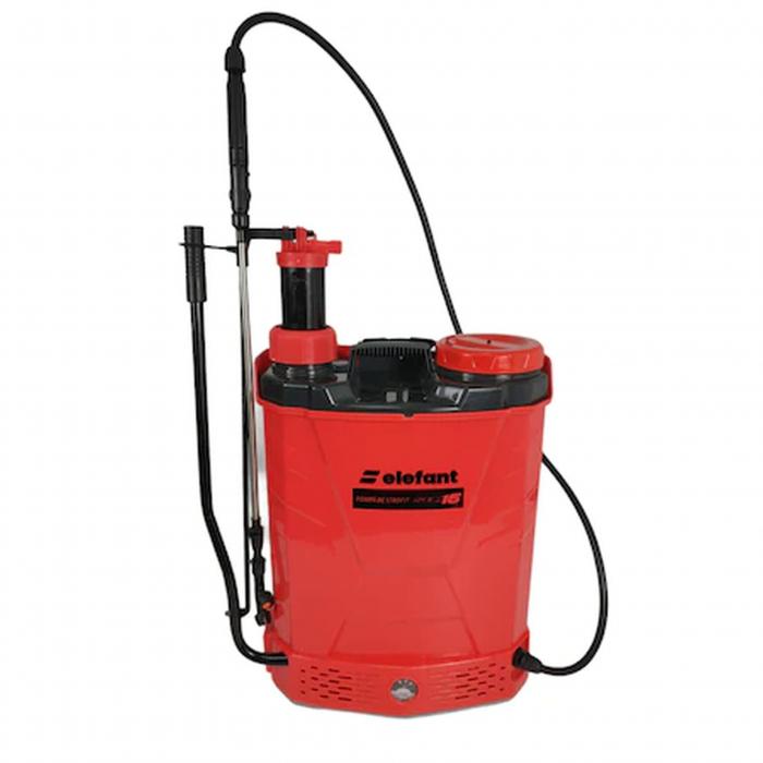 Pompa de stropit Elefant SEM16, 2in1, 12V/8Ah, electrica/manuala, 3 tipuri de stropire [0]
