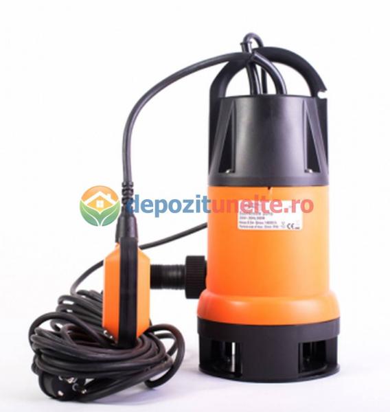 Pompa submersibila de plastic pentru apa murdara 900W Micul Fermier 1