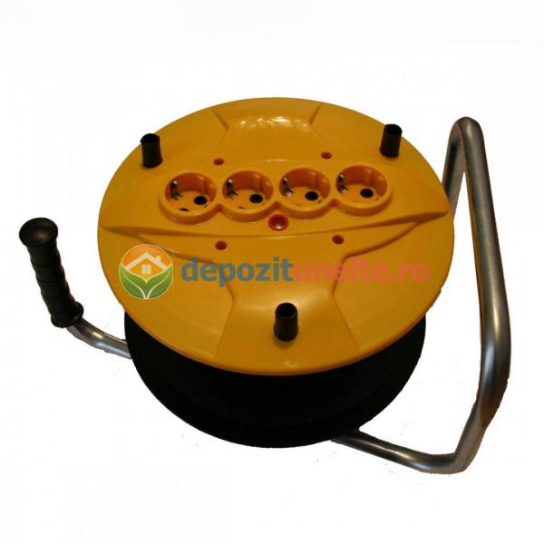 Prelungitor pe tambur cu derulator 40m x 2,5mm 0