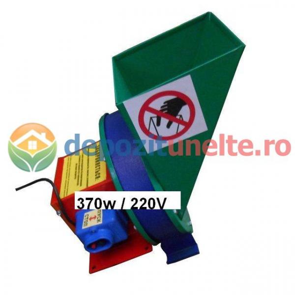 Razatoare electrica pentru fructe si legume 370W - Razatoare/tocator INOX 0