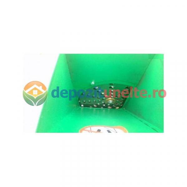 Razatoare electrica pentru fructe si legume 370W - Razatoare/tocator INOX 2