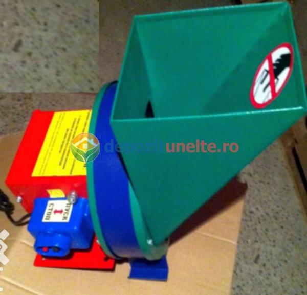 Razatoare electrica pentru fructe si legume 370W - Razatoare/tocator INOX 3