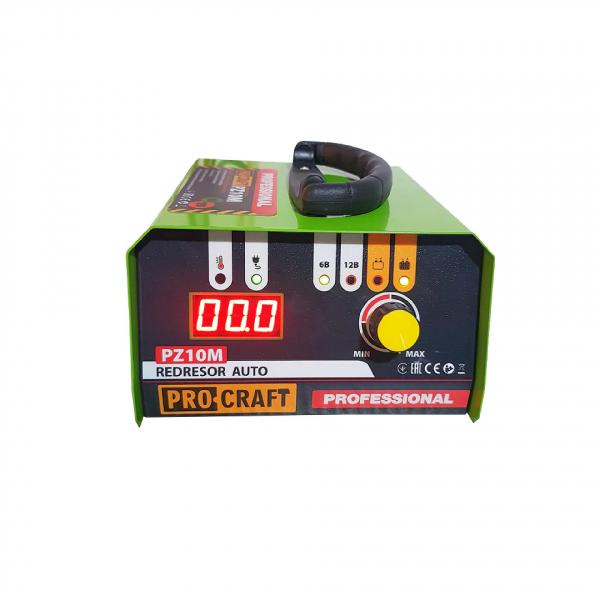 Redresor auto Profesional 6-12 V , ProCraft - PZ10M , curent de incarcare 10 Amp , 165 W 0
