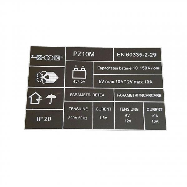 Redresor auto Profesional 6-12 V , ProCraft - PZ10M , curent de incarcare 10 Amp , 165 W 3