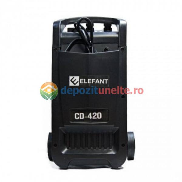 Robot pornire auto ELEFANT CD-420, 1100 W, 600AH, Albastru 1090 2
