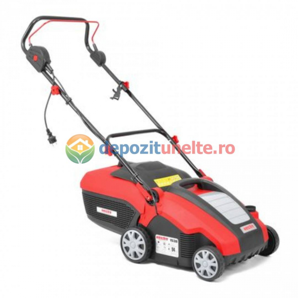 Scarificator si aerator de gazon electric HECHT 1538 2 in 1, 1500 W, sac colectare 50 l 0