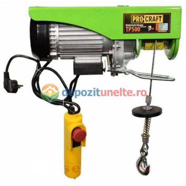 SCRIPETE - PALAN ELECTRIC - MACARA PROCRAFT TP250 125/250 KG 0