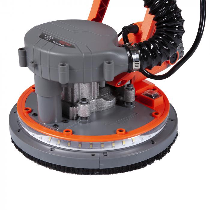 Slefuitor pereti pliabil cu aspir LED 750W Ø215mm [0]