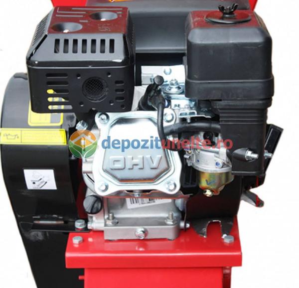 Tocator de crengi si tulpini pe benzina Micul Fermier 6,5CP 4