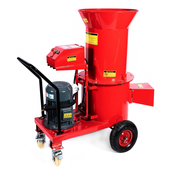Tocator electric pentru furaje, resturi vegetale si tulpini groase cu motor trifazat 7,5kW, tensiune 380V [2]