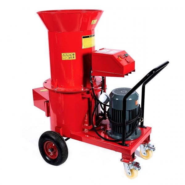 Tocator electric pentru furaje, resturi vegetale si tulpini groase cu motor trifazat 7,5kW, tensiune 380V [5]