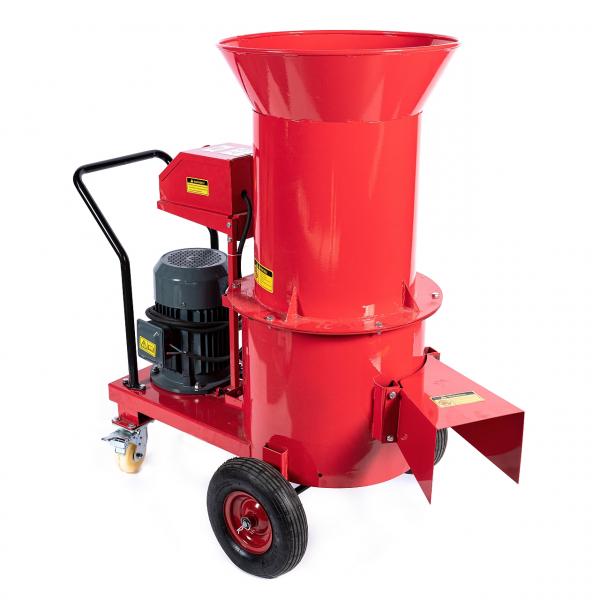 Tocator electric pentru furaje, resturi vegetale si tulpini groase cu motor trifazat 7,5kW, tensiune 380V [3]