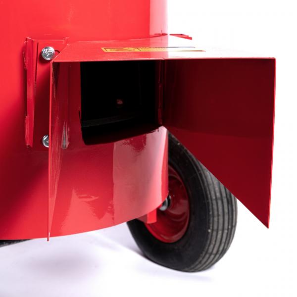 Tocator electric pentru furaje, resturi vegetale si tulpini groase cu motor trifazat 7,5kW, tensiune 380V [6]