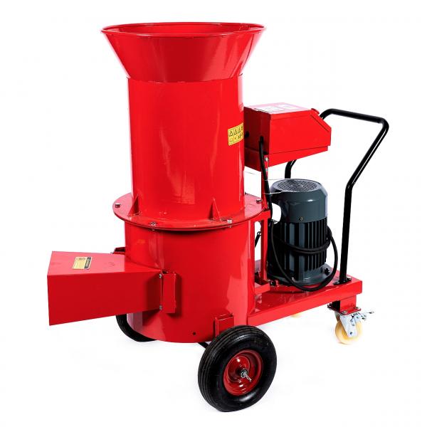 Tocator electric pentru furaje, resturi vegetale si tulpini groase cu motor trifazat 7,5kW, tensiune 380V [4]