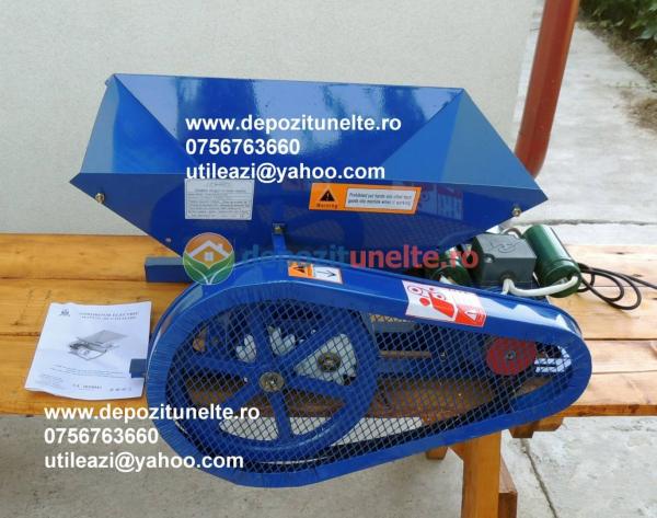 Zdrobitor electric de struguri Micul Fermier 500W - 500kg/ora