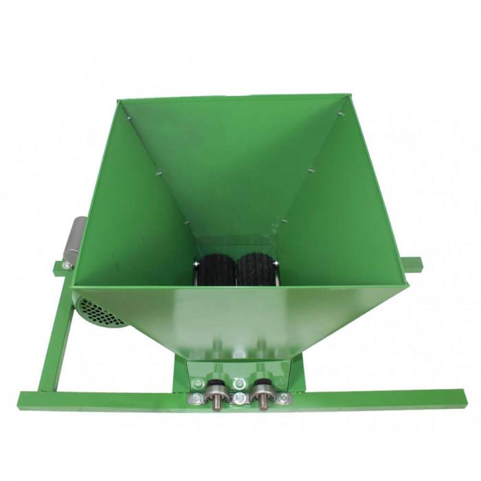 Zdrobitor electric de struguri, 240-500 kg/h, cuva 35L, 1.8kW, Fermax, Model 2021 [4]