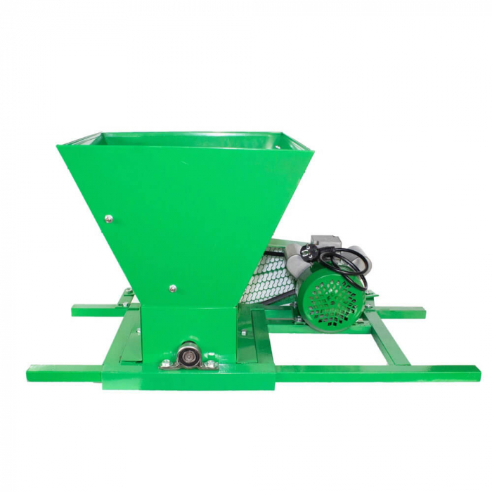 Zdrobitor / tocator electric de fructe si legume, 300 - 500 kg/h, cuva 35L, 1.8kW, Fermax, Model 2021 [2]